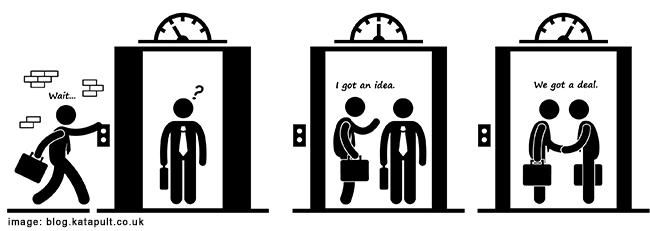 30-second elevator pitch