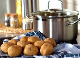 Kitchen Hack: Learn How To Boil Potatoes In Half The Time