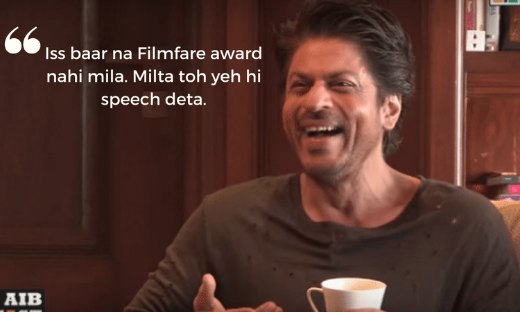 Shahrukh Khan AIB podcast