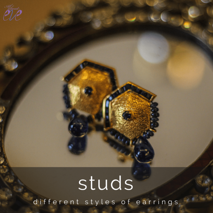 different types of earrings for women