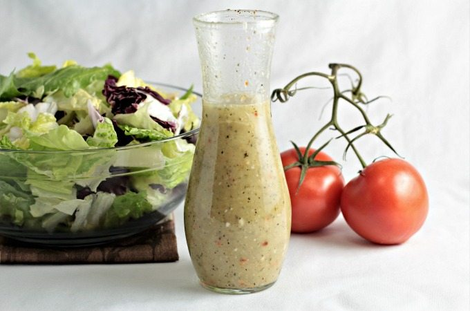 different types of salad dressing
