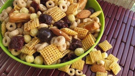 healthy trail mixes