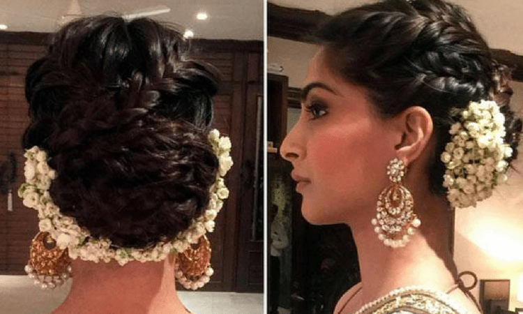 hairstyles with Indian wear