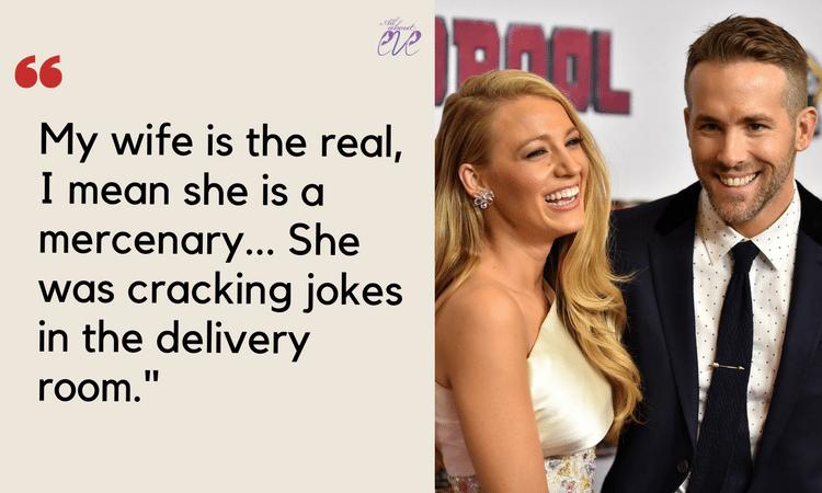 Ryan reynolds quotes about blake lively