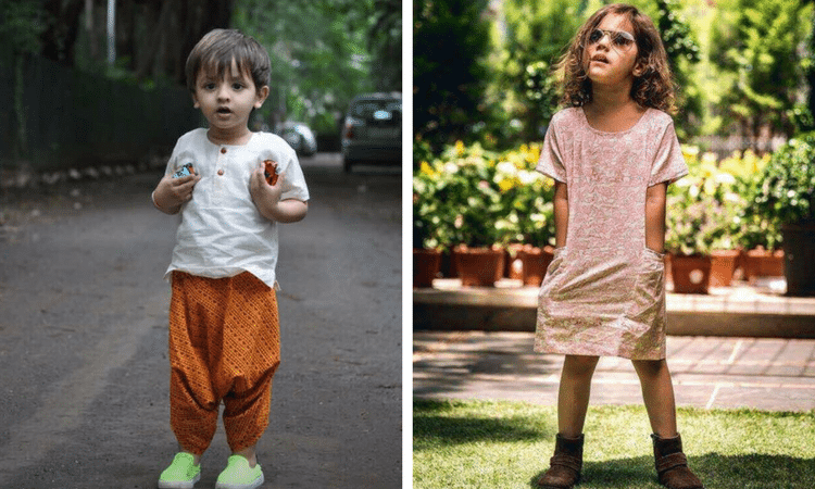 comfortable Indian wear for kids