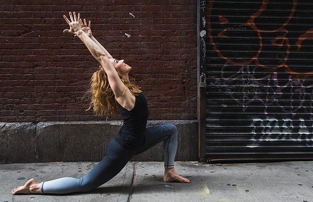 yoga poses to wake you up