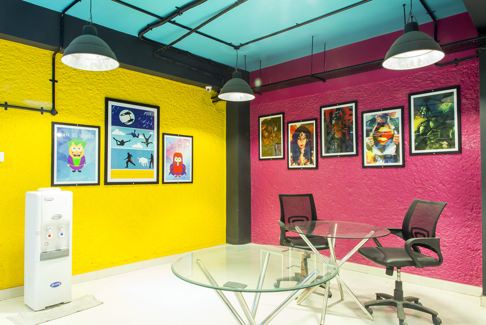 cool startup office spaces in India
