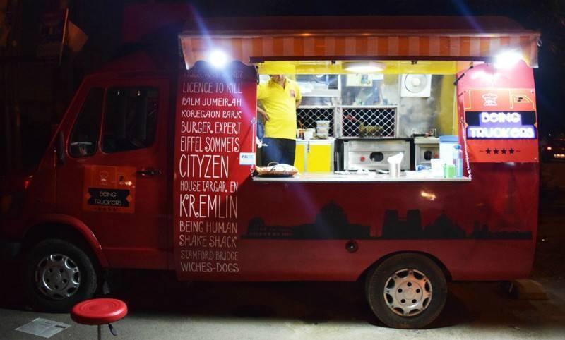 food trucks in noida