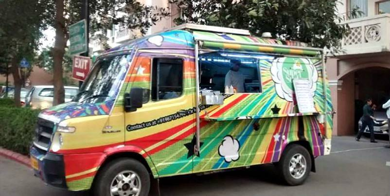 food trucks in delhi