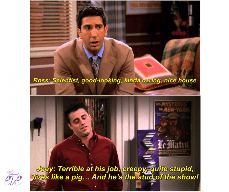 Friends episodes, funny Friends scenes