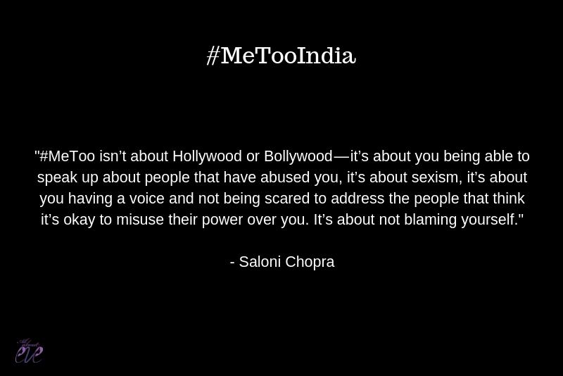 #MeTooIndia
