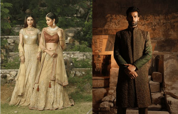 best wedding outfits for men and women