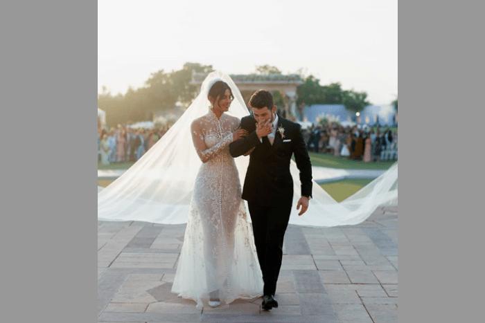 priyanka chopra's wedding dress
