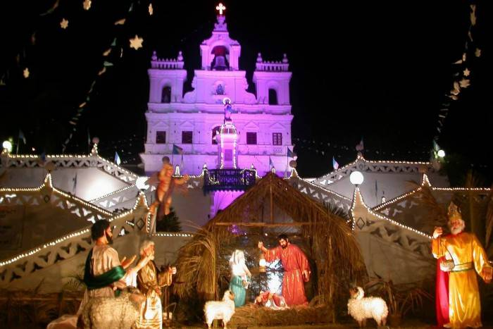 best places to celebrate christmas in india