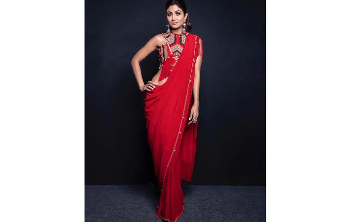 unique saree styles