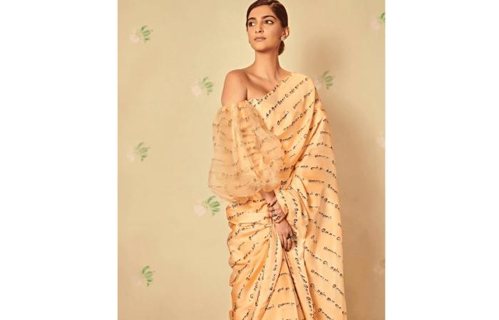 different saree styles