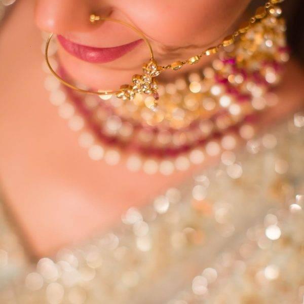 bridal nose rings