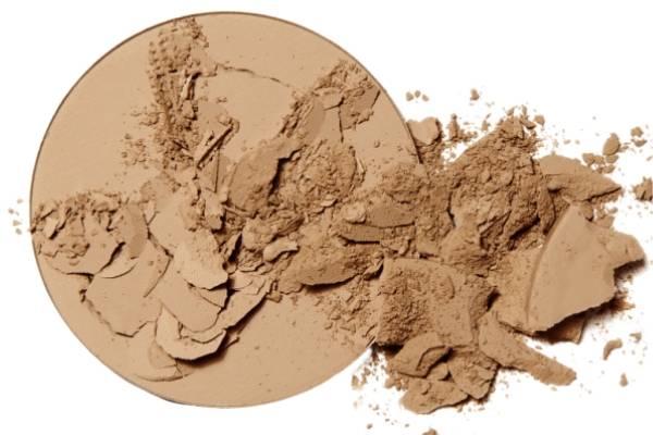 Compact Powder Broken Makeup