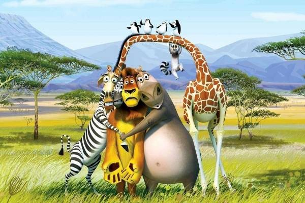 Madagascar Poster, Feel-Good Watchlist