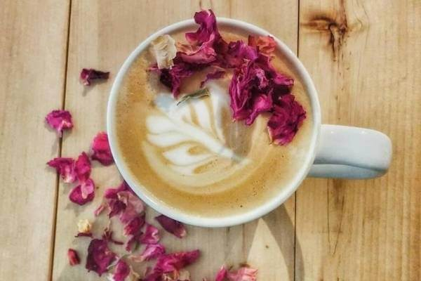 Coffee With Rose Petals- Coffee Flavours