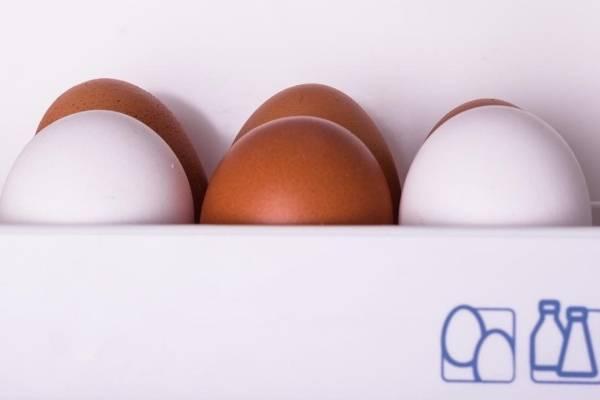 Eggs Kept In Fridge Door- Cooking Hacks