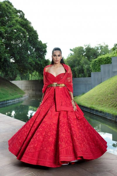 bridal couture in India