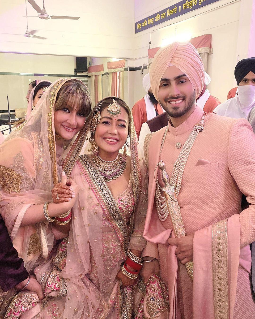 All The Bridal Looks From Neha Kakkar's Whimsical Wedding