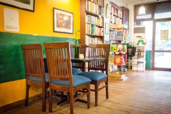 The interiors of Cafe Turtle