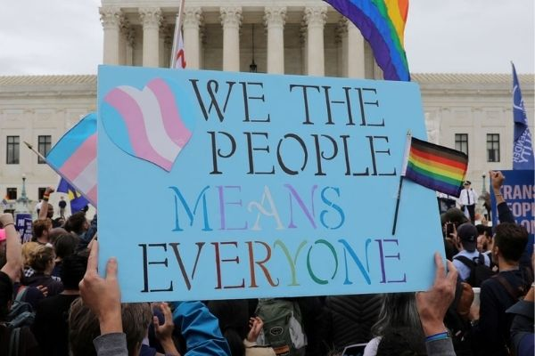 Representational image of an LGBTQ protest