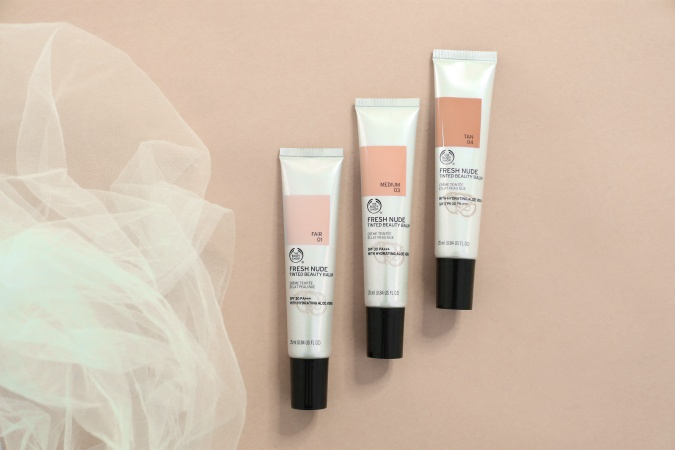 tinted skincare products
