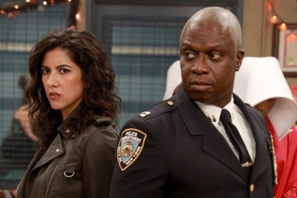 Iconic LGBTQIA+ Characters: Rosa and Captain Holt in a still from Brooklyn Nine-Nine
