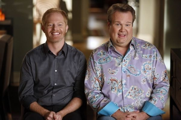 Mitch and Cam in a still from Modern Family