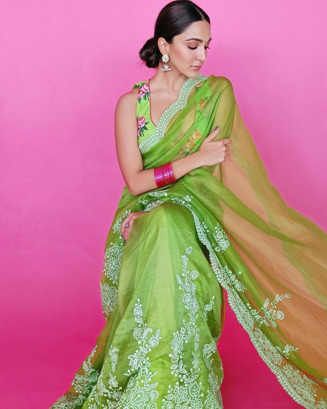 bollywood saree styles