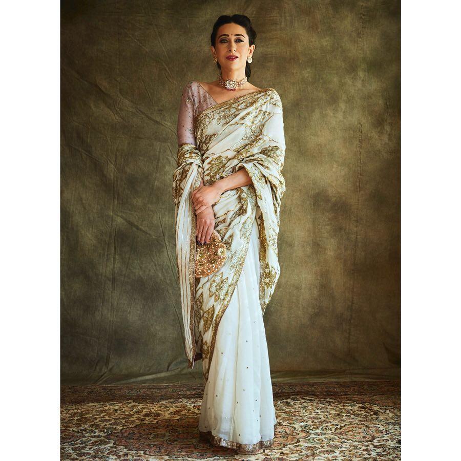 bollywood saree style